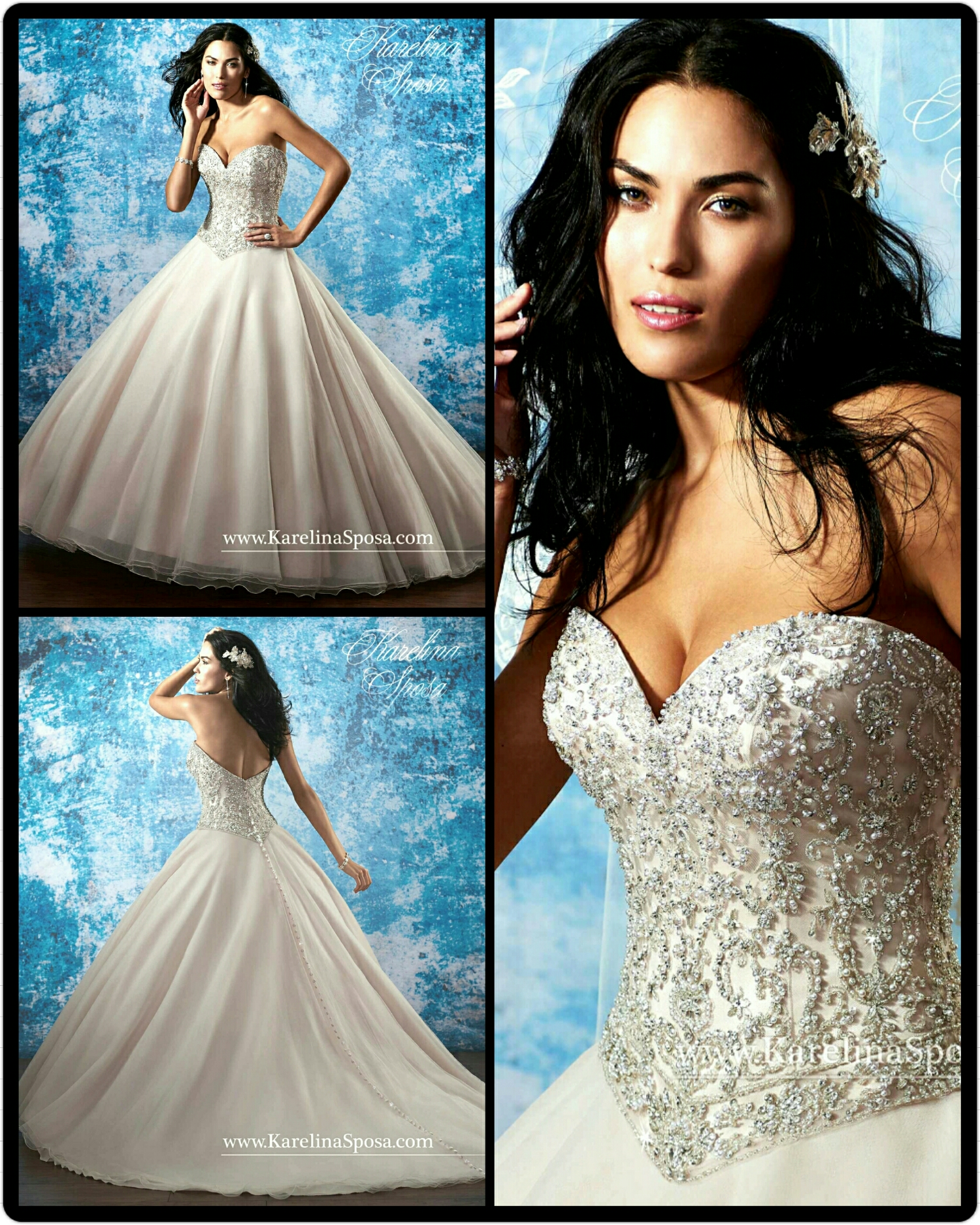 Favorite Wedding Gowns Of 2015 ~ Part 1 Traditional Gowns | TAGWeddings